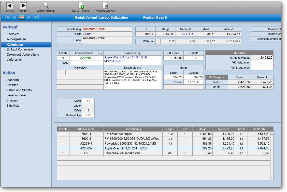 Kostenlose Warenwirtschaft Für Selbstständige Und Free Mac Software